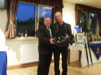 2nd place Geoff Cooke and absent friends