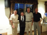 3rd place Alan Garside and guests